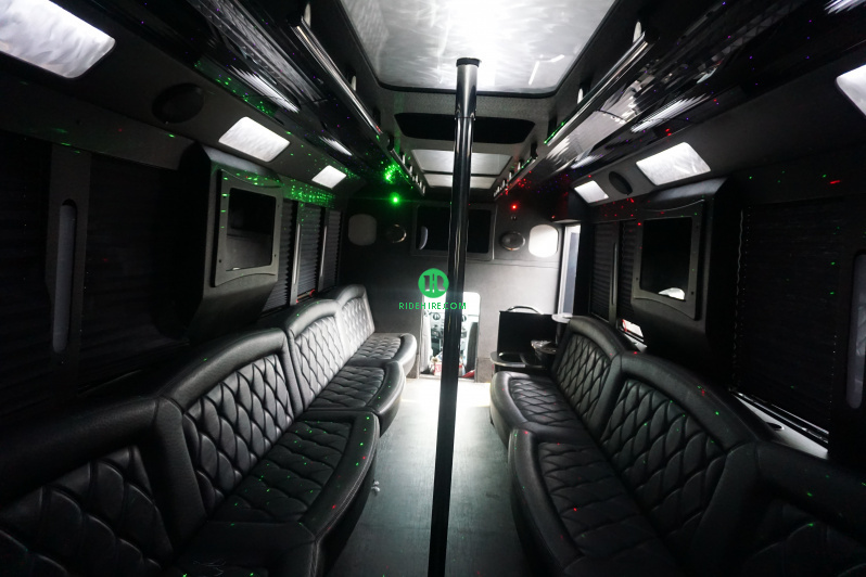 32 Passenger Party Bus Rental Houston