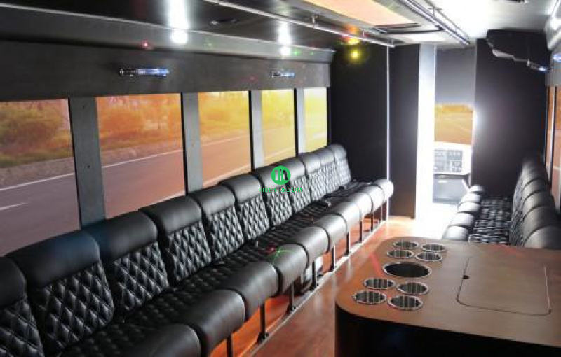28 Passenger Party Bus Rental Houston