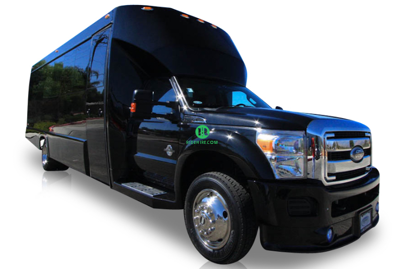 28 Passenger Party Bus Rental Houston