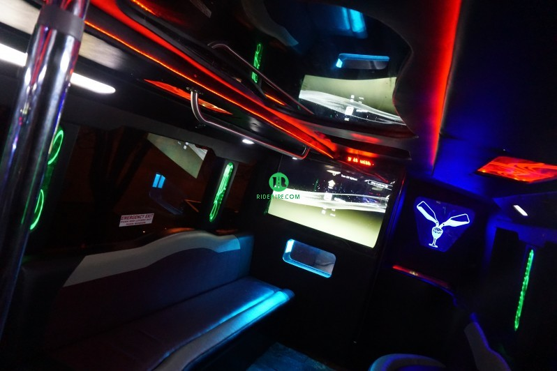 45 Passenger Party Bus Rental Houston