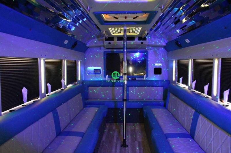 22 Passenger Party Bus Rental Houston