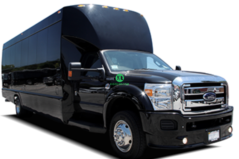 24 Passenger Party Bus Rental Houston