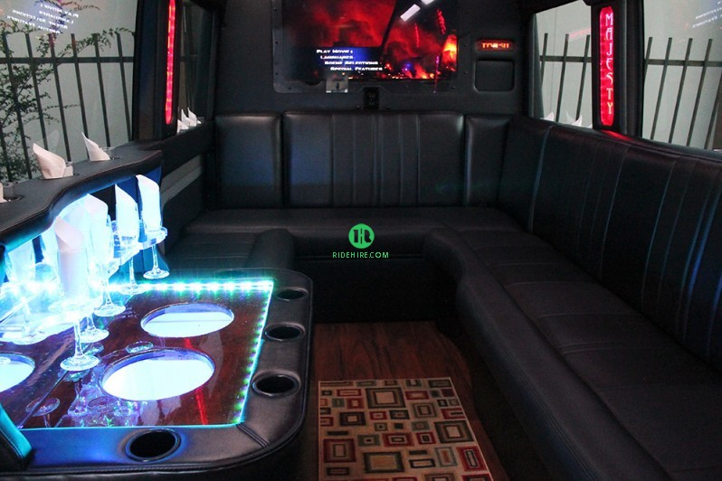 Sprinter Party Bus Rental Houston