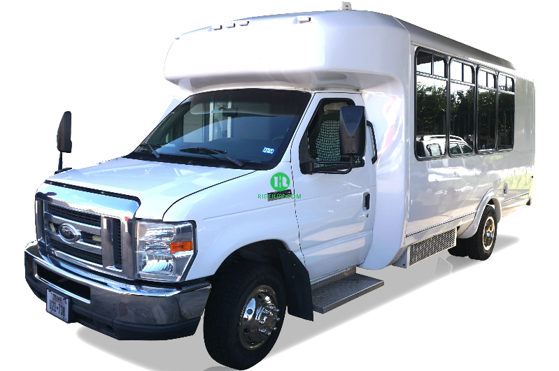 18 Passenger Party Bus Rental Houston