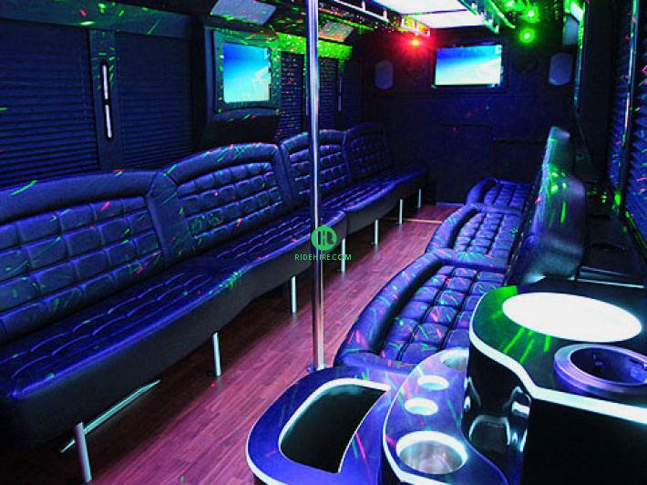 29 Passenger Party Bus Houston